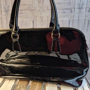 Forever 21 handbag purse bag tote shoulder black p